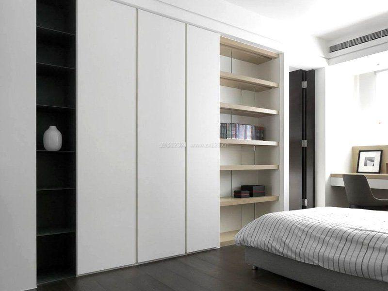极简卧室入墙式衣柜效果图片图片