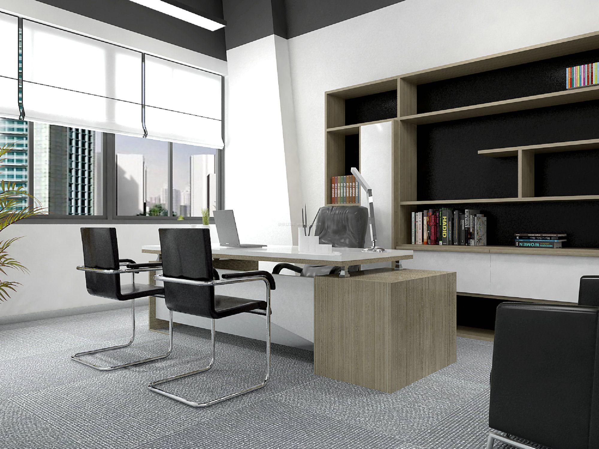 嘉定区曹安公路办公室280平米现代风格