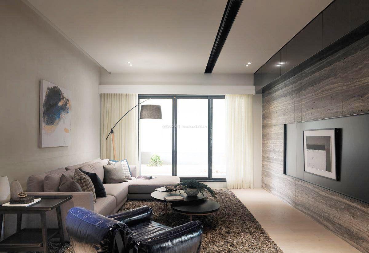 两室一厅100平米新房客厅装修图