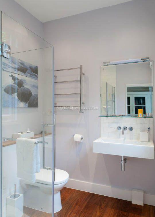 家庭小户型浴室毛巾架装修装饰图片_装修123效果图图片