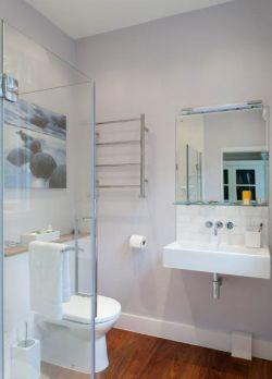家庭小户型浴室毛巾架装修装饰图片
