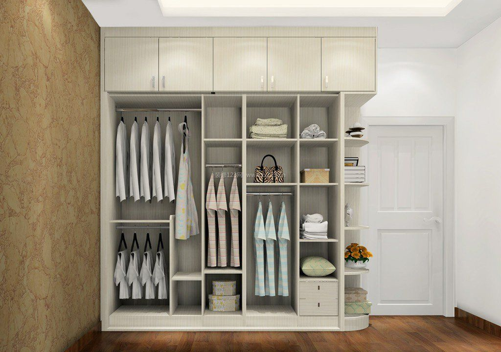 现代风格好莱客整体衣柜图片大全_装修123效果图