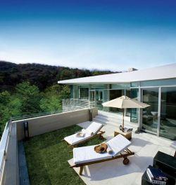 2017图纸屋顶花园创意设计平面图易达新2000PRS别墅图片