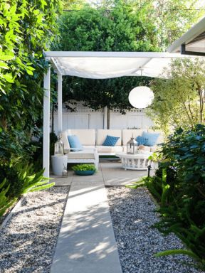 简欧风格别墅屋顶花园平面图-小型别墅平面图