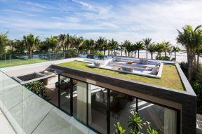 別墅屋頂花園平面圖