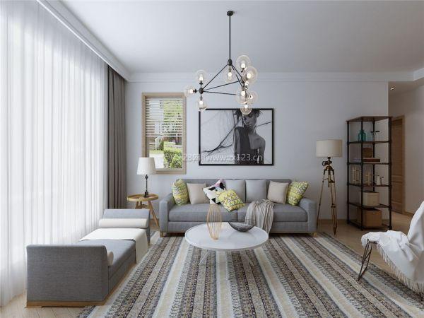 现代简约北欧风格客厅装修图片图片
