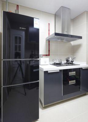 2017小空間廚房裝修效果圖 2017廚房灶臺及油煙機設計圖