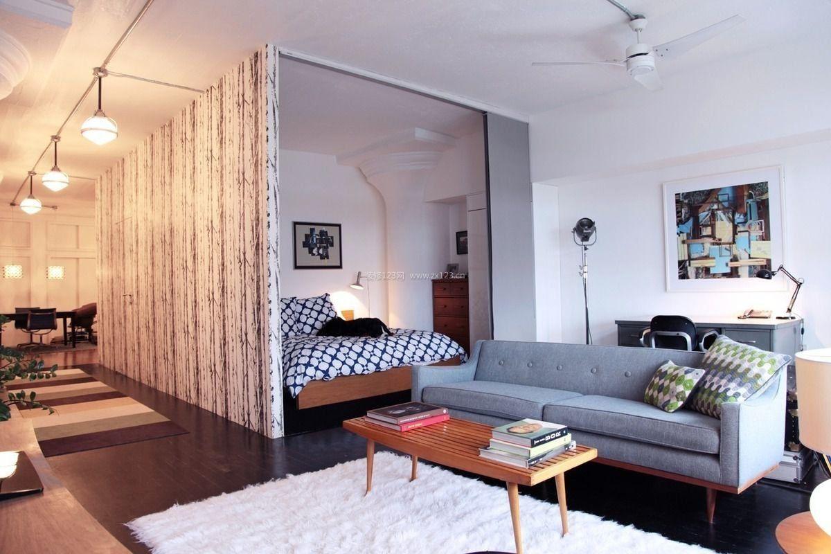 客厅矮墙隔断_家庭客厅卧室装修效果图谁有,我想用3d墙纸-