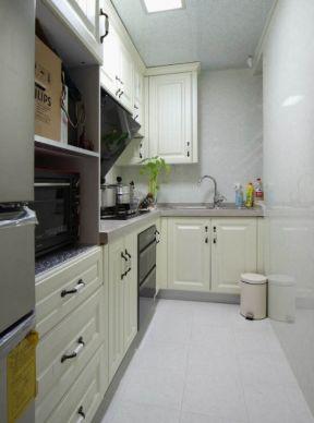 u型无窗厨房装修效果图