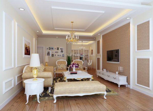 现代欧式风格客厅家具搭配