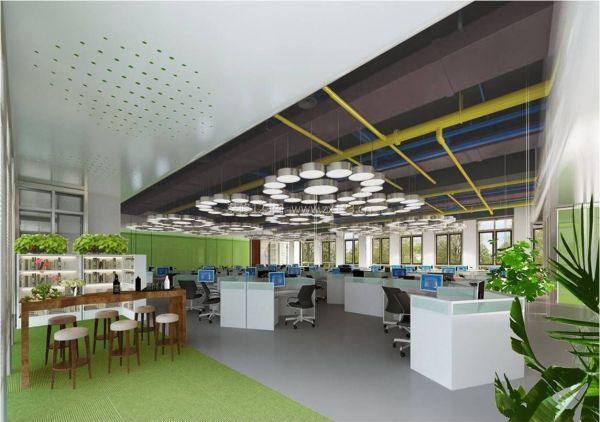 对于办公室装修设计中的电路验收来说,首先要做的就是经过灯具