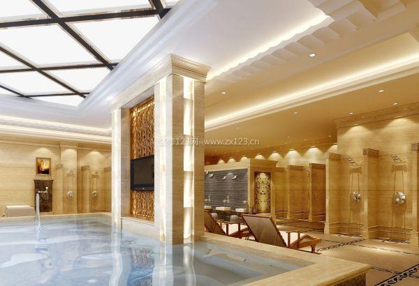 合肥浴池装修洗浴中心设计浴场装修重点及注意事项