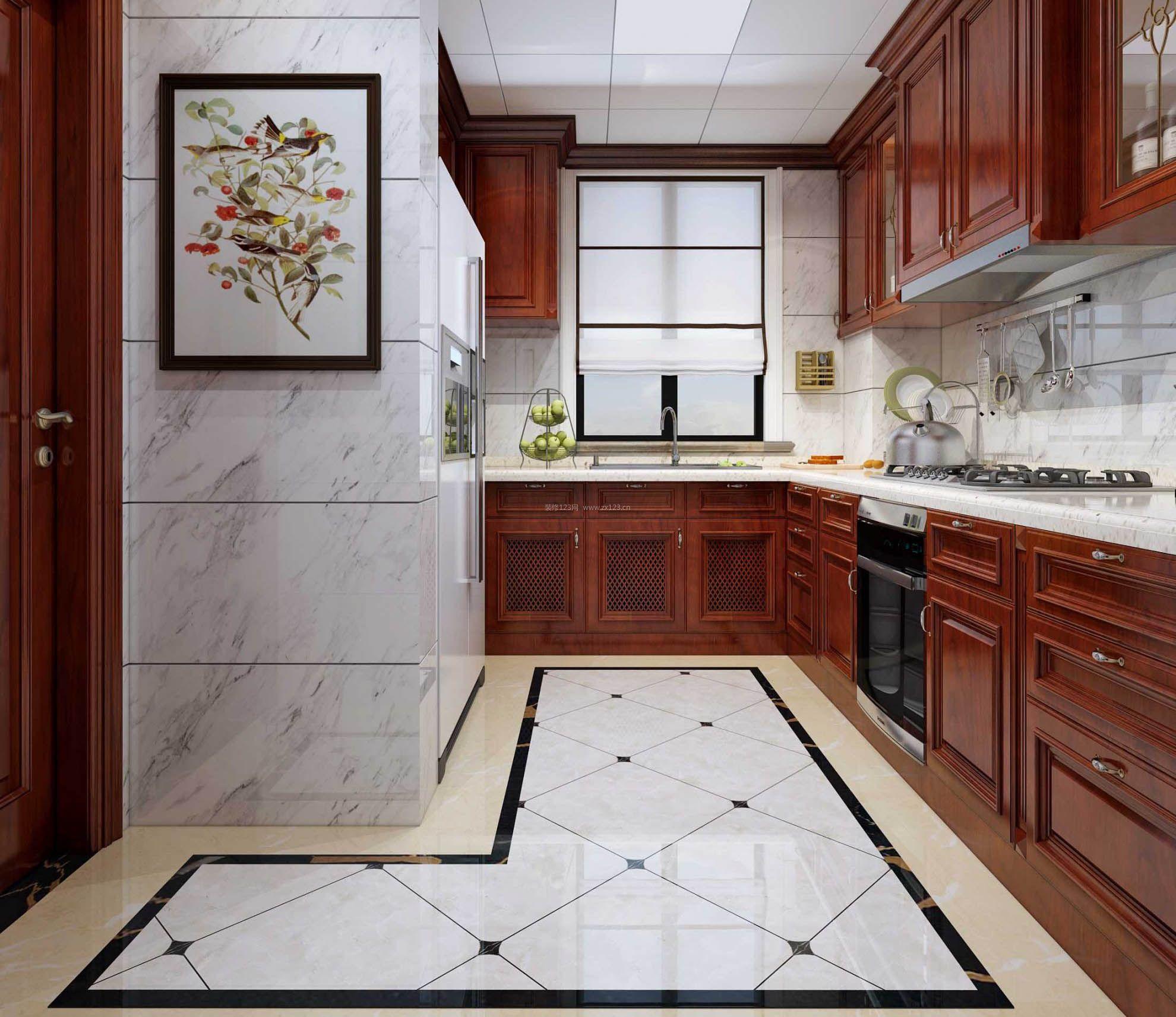 2017新厨房窗户卷帘设计效果图片