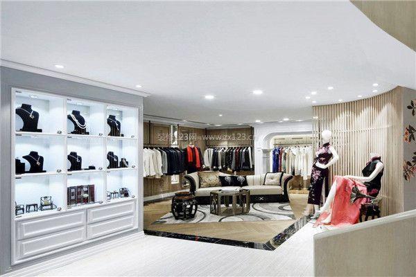 高档女装店面装修室内布置效果图