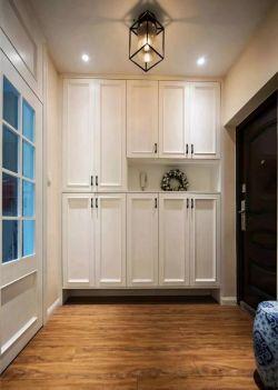 現代美式風格進門鞋柜設計圖
