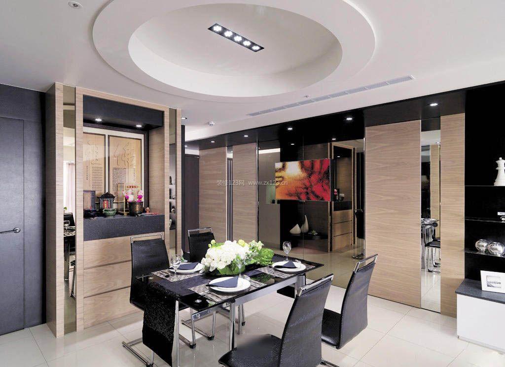家装效果图 现代 2017现代餐厅木质佛龛装修设计图 提供者:   ←