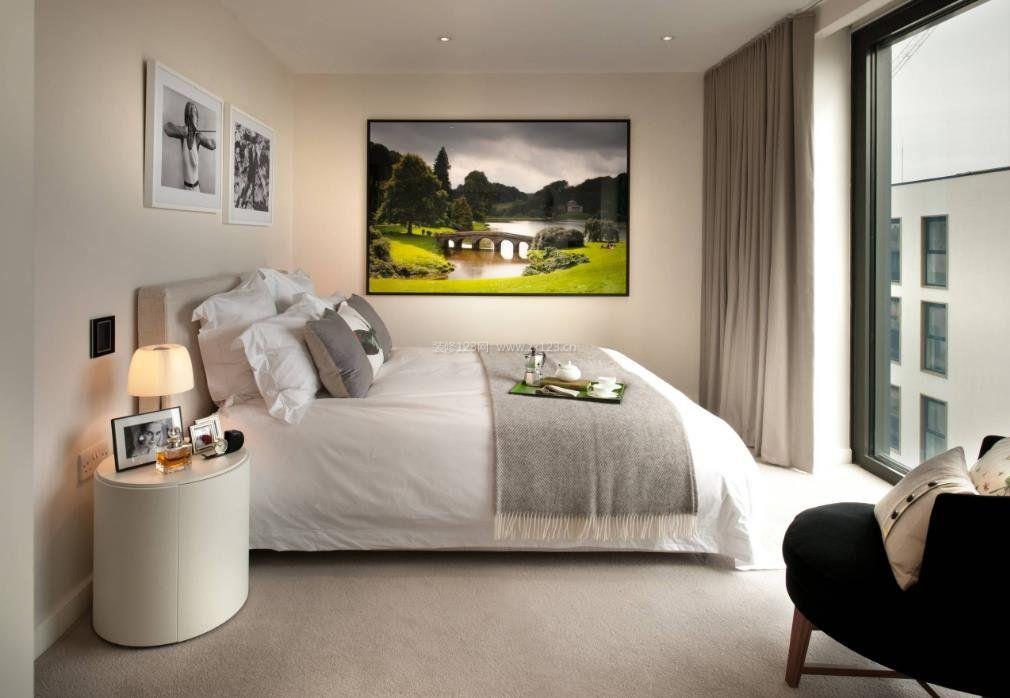 2017现代家庭装修卧室风格室内效果图