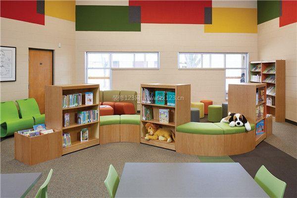 北京儿童图书馆装修设计 让孩子们流连忘返的图书馆图片