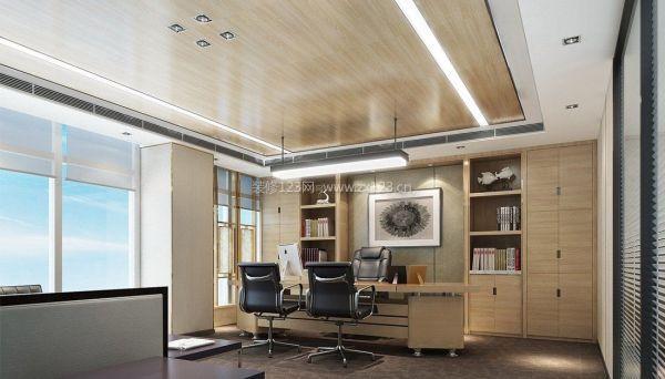 办公室吊顶装修效果图片