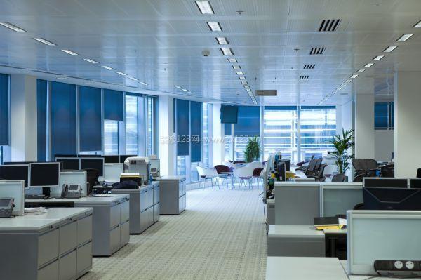 小型企业办公室室内装修效果图