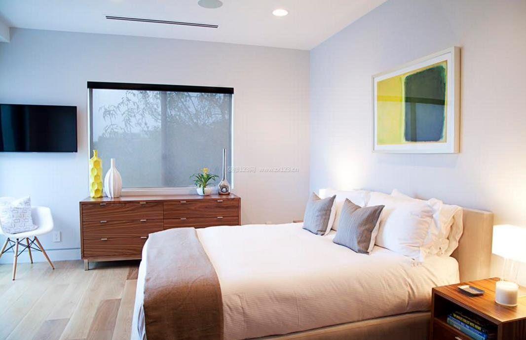 2017现代简装卧室家具设计效果图