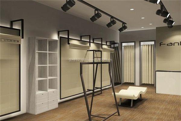 > 广州女装店装修设计技巧 如何做好服装店装修设计  3,试衣间:女装