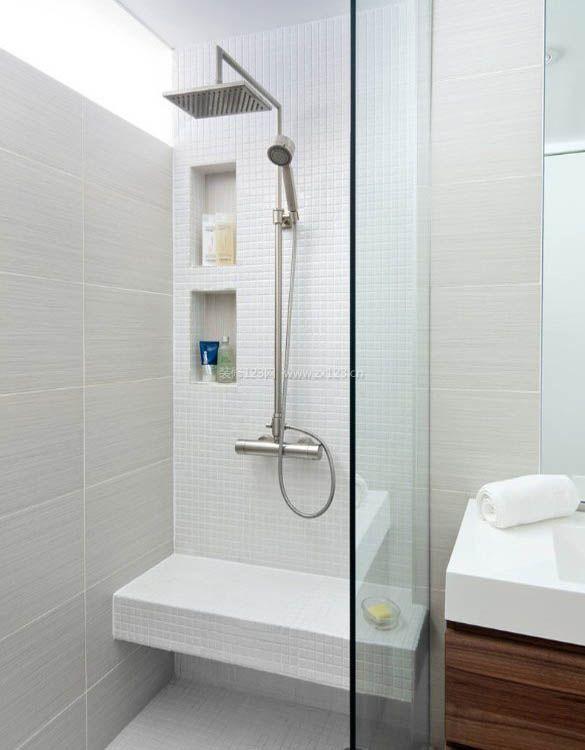 2017小户型家庭整体浴室图片_装修123效果图图片