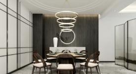 首開瑯樾現代風格270平米設計方案分享