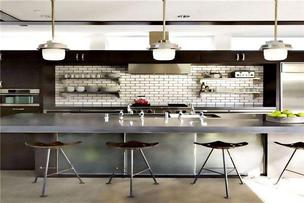 北京小饭店厨房装修设计 后厨装修考虑实用性