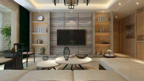 新中式 瓷砖 客厅装修效果图客厅