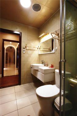 家庭卫浴干湿分离设计装修图