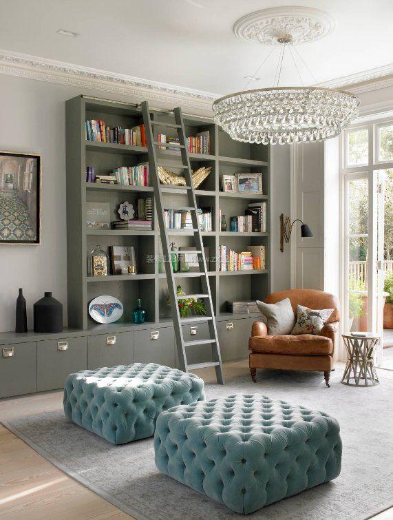2017家庭小书柜书架设计效果图