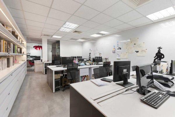 看看办公室装修设计里的线条在行走飞舞
