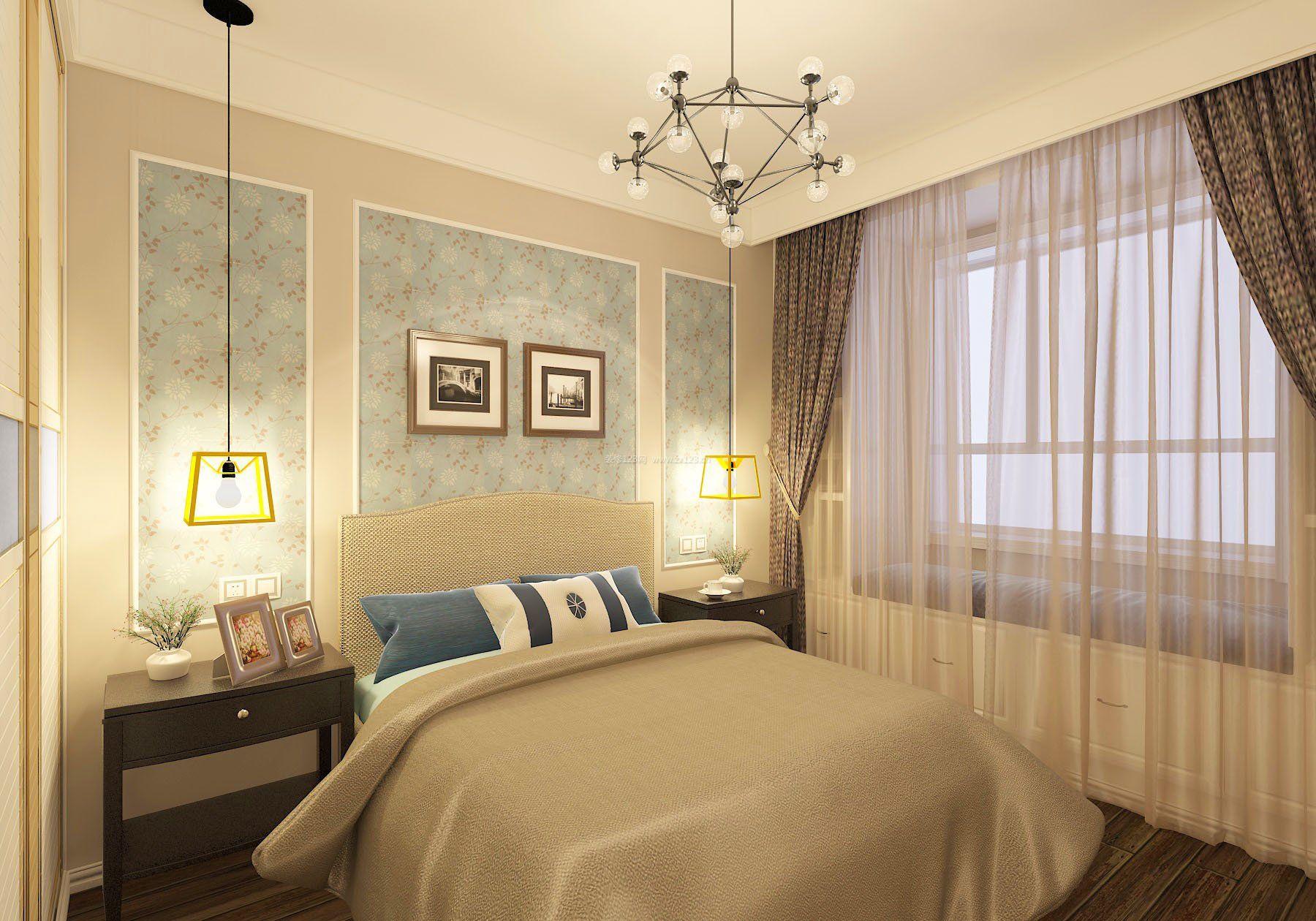 北欧风格卧室图片2020 房天下家居装修网