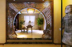 中式别墅造型别墅装修效果图门洞中安长岛图片