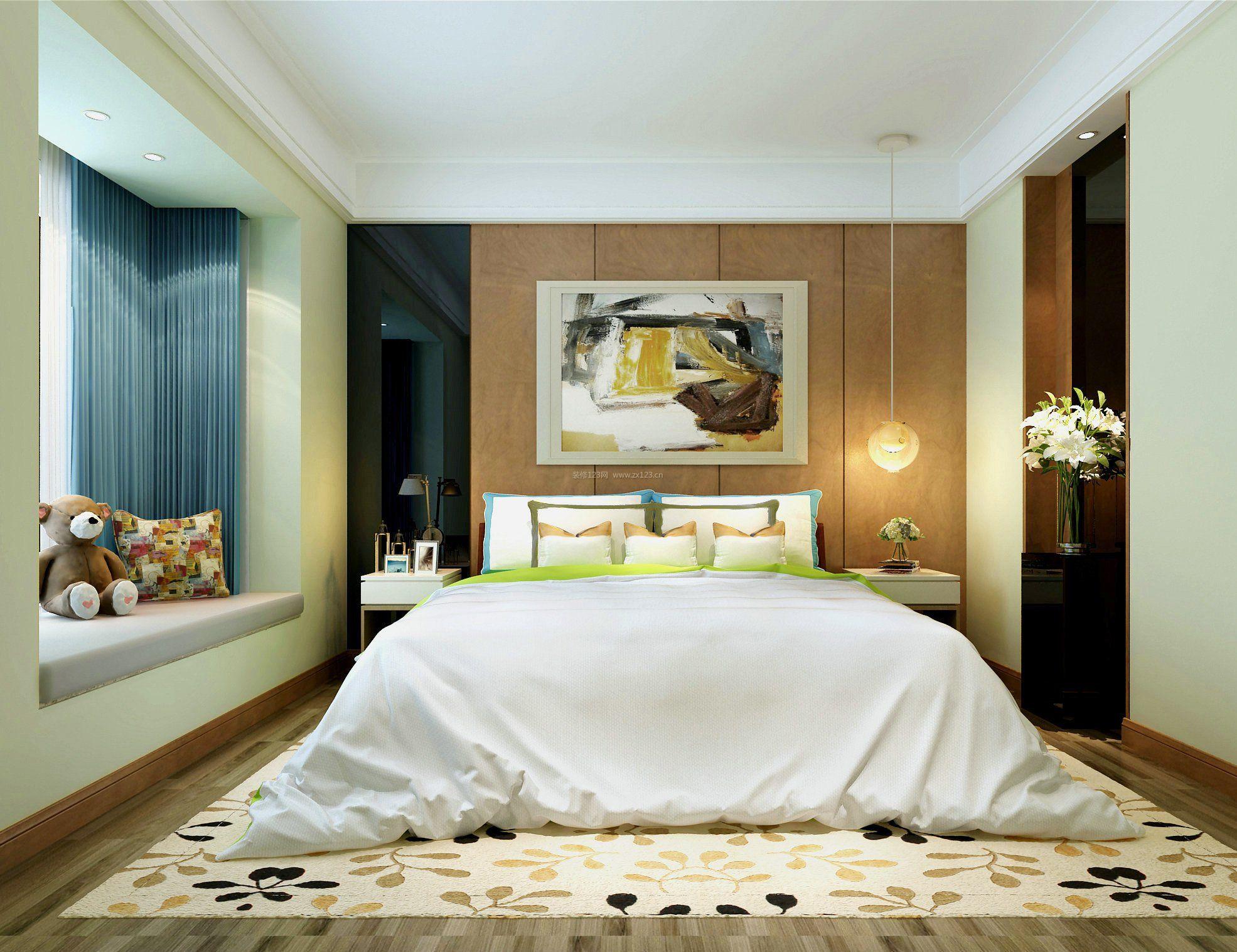 背景墙 房间 家居 起居室 设计 卧室 卧室装修 现代 装修 1971_1517