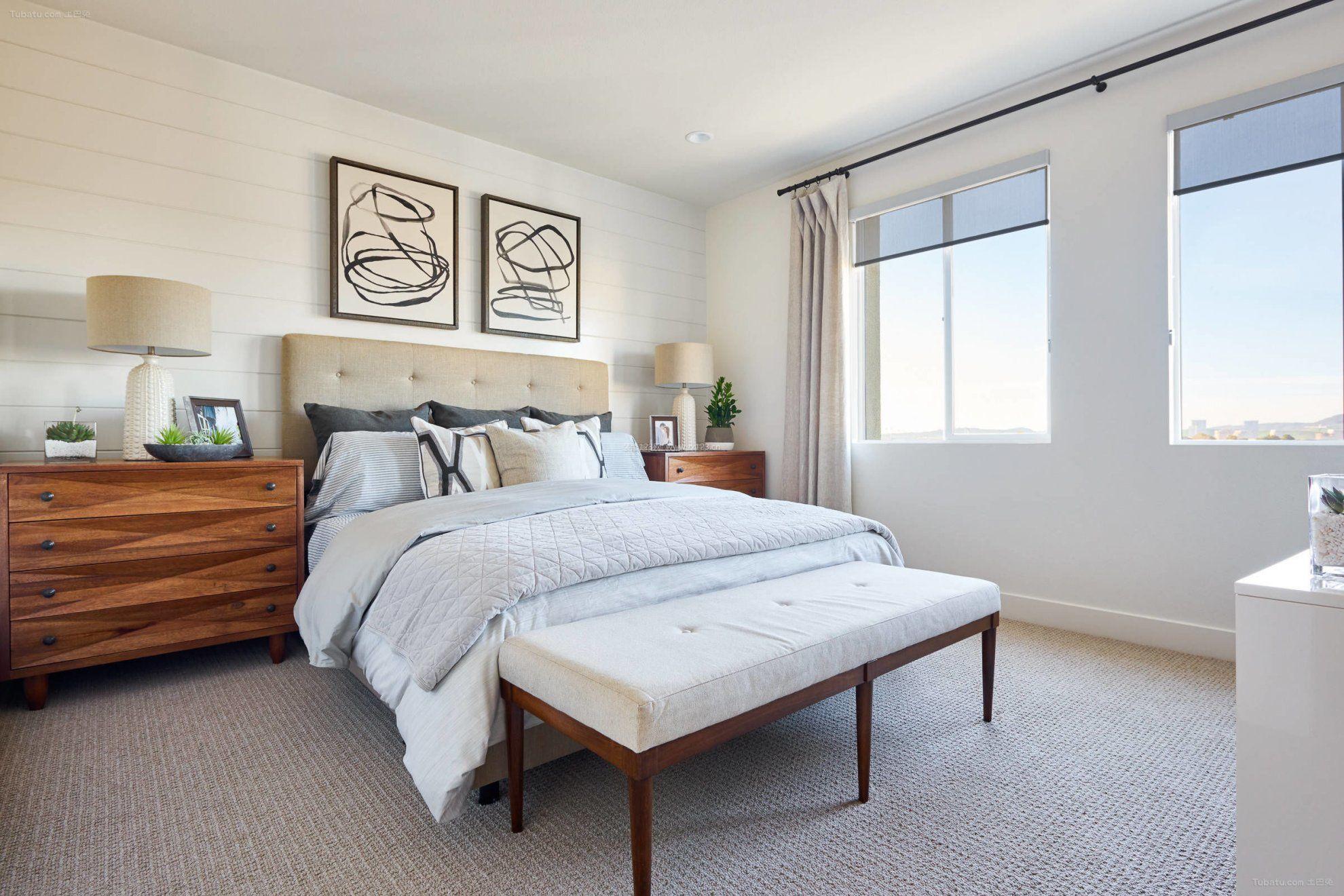 背景墙 房间 家居 起居室 设计 卧室 卧室装修 现代 装修 1980_1321