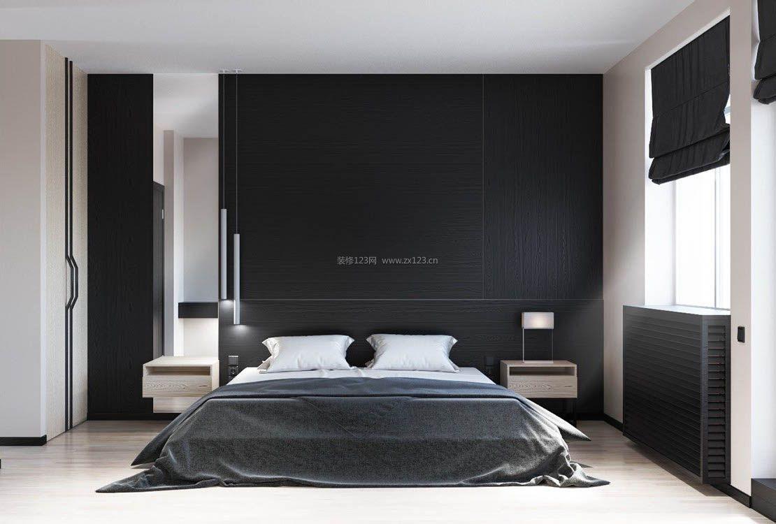 2017黑白灰时尚卧室吊灯设计图片