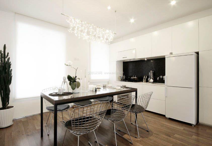 家装效果图 餐厅 2017厨房餐厅室内实木地板贴图欣赏大全 提供者