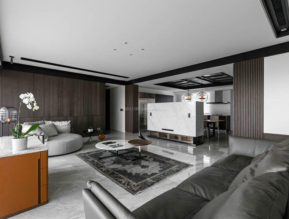 2017现代黑白简约风格室内地板贴图欣赏