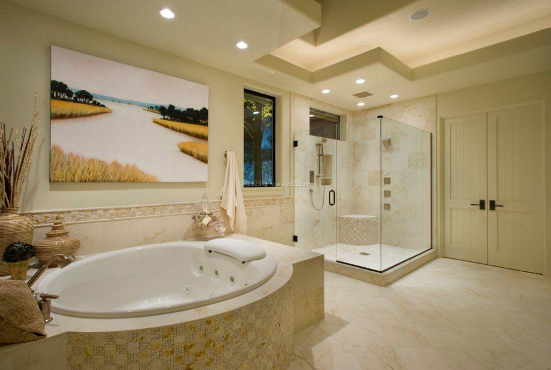 浴室豪华装修效果图