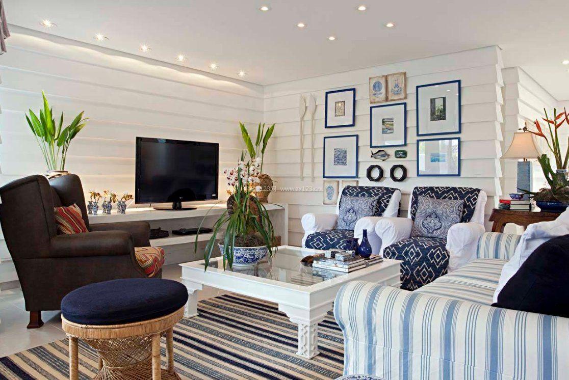 家装效果图 地中海 2017地中海室内起居室设计效果图片 提供者:   ←