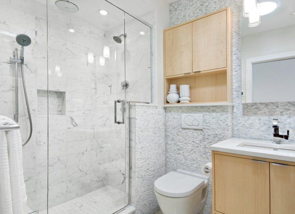 2017户型浴室玻璃门效果图大全赏析图片