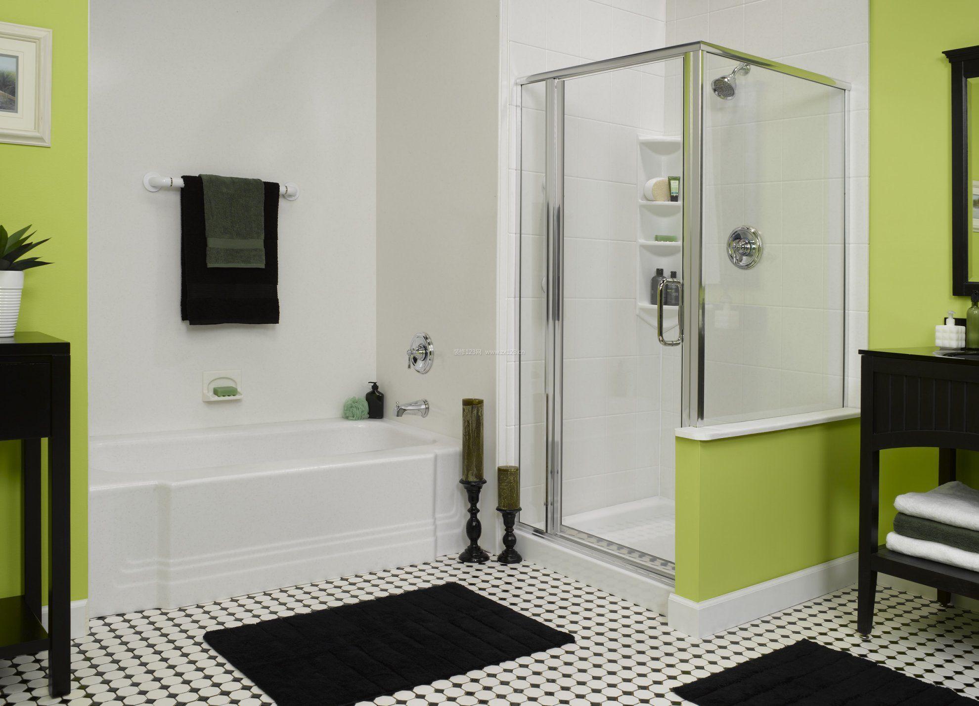 浴室装修图片_家庭浴室装修图片