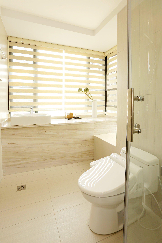 2017年室内家装小户型浴室玻璃门效果图大全