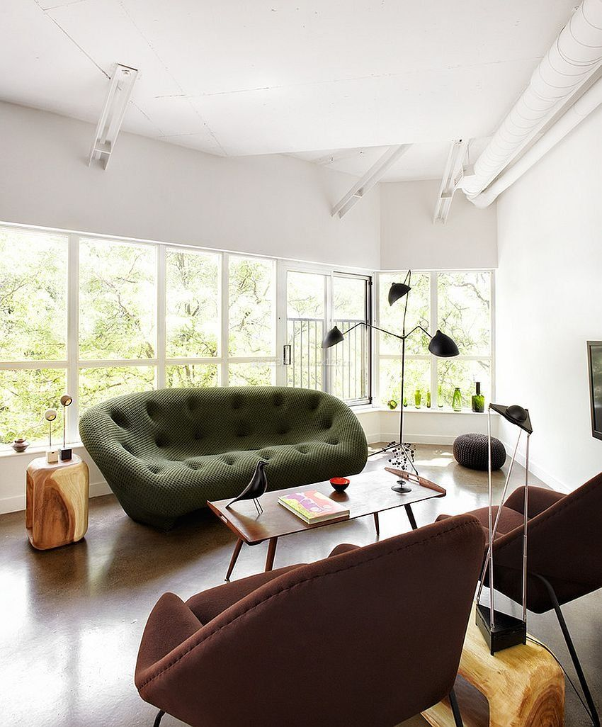 2017绿色家居沙发造型创意设计图片