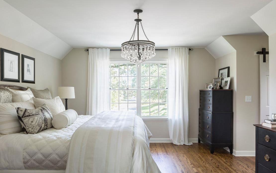 黑白房间设计图卧室展示