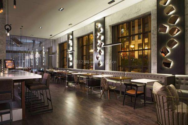 酒店餐厅室内照明设计效果图片