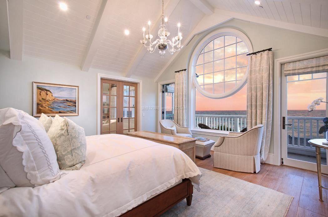 2017美式家装主卧室设计效果图