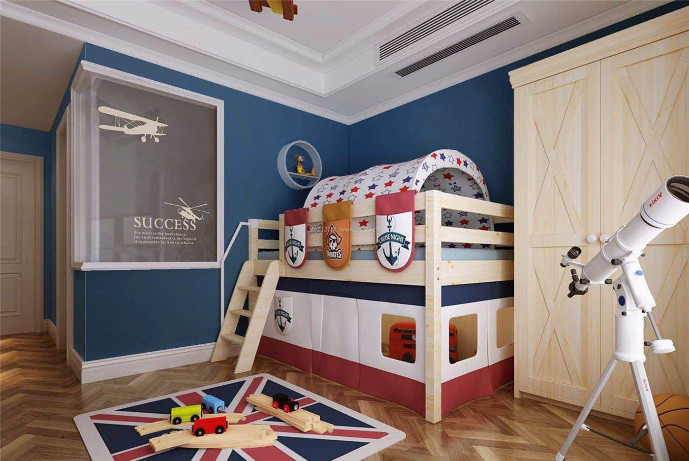 2017上海家居创意儿童卧室装修图片_装修123效果图图片
